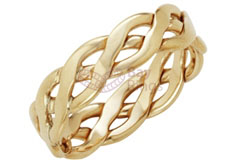 9ct Yellow Gold Handmade Celtic Ring