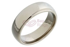 Plain Titanium Ring