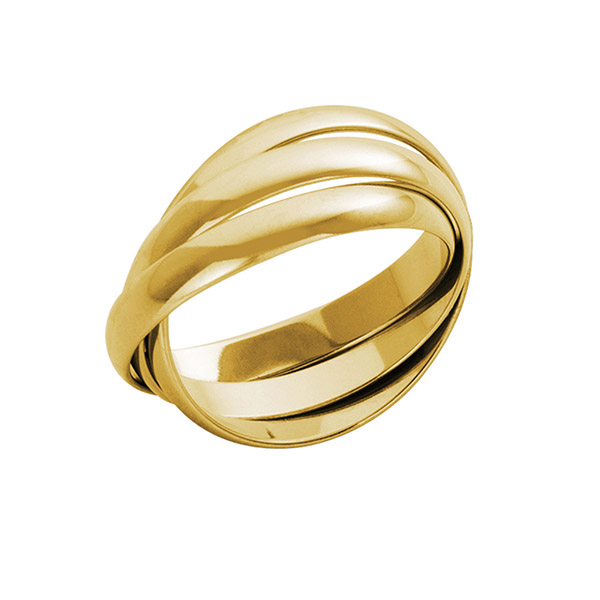 18ct Yellow Gold Russian Wedding Rings | 18ct Yellow Gold Russian Wedding Band