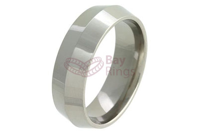 Knife Edge Titanium Ring | Knife Edge Titanium Ring