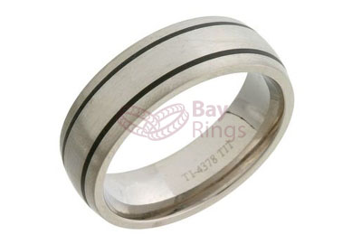Enamelled Titanium Ring | Enamelled Titanium Ring