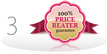 Price Beater 100% guarantee