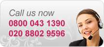 Call Us Free on 0800 043 1390